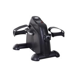 HOMCOM Heimtrainer Pedaltrainer mit LCD-Display schwarz