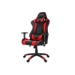 ebuy24 Gaming-Stuhl Paracon Knight Gaming Stuhl inkl. Nackenkissen und rot