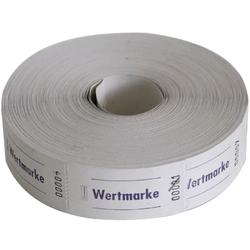 Avery Zweckform Geschirr-Set Wert-Marke 57x30mm 1000 Abrisse pro Rolle versch. (1000-tlg), Papier weiß