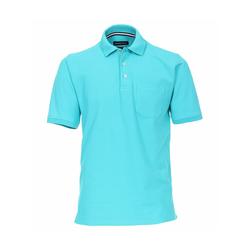 Polo-Shirt uni CASAMODA Aquamarine