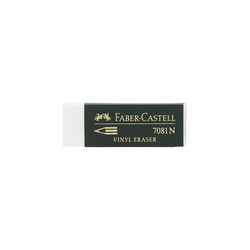 Faber Castell Radiergummi 63 x 22 x 12mm 7081N weiß