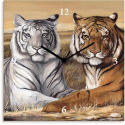 Artland Wanduhr Tiger Mittagsruhe