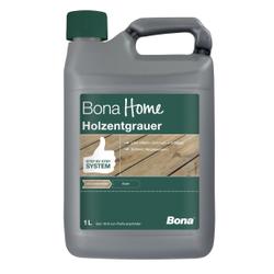Bona Holzentgrauer, Oberflächenreiniger löst effektiv Schmutz und Moos, 1 Liter - Kanister