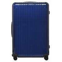 Lite Check-In 4-Rollen 78 cm / 81 l blue gloss