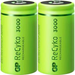 GP Batteries ReCyko+ Baby (C)-Akku NiMH 3000 mAh 1.2V 2St.