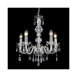 lux.pro Kronleuchter, Elegance Ø 52 cm mit Kunstkristallen