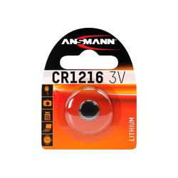 ANSMANN® Lithium Knopfzelle CR1216 Batterie