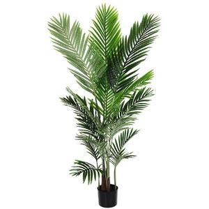Kunstpalme künstliche Pflanze Palme, Arnusa, Höhe 140 cm, fertig im Topf