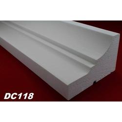 DC118 Fensterbankprofil Fenster Zierprofil 210x130mm Fassadenprofil Fassadenstuck Profil Leiste 200cm