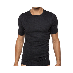 Ammann Unterhemd Jeans Sportjacke Unterhemd 1/2 Arm grau 9