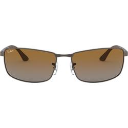 Ray-Ban 0RB3498 029/T5 Metall Rechteckig Grau/Grau Sonnenbrille, Sunglasses   0,00   0,00   0,00