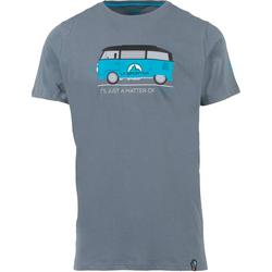 La Sportiva Van T-Shirt Men slate Klettershirt