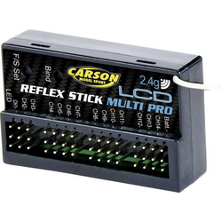 Carson Modellsport Reflex Stick Multi Pro LCD 14-Kanal Empfänger 2,4GHz