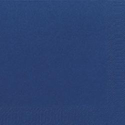 Duni Zelltuch Servietten 40x40 3lg 1/4 F d blau - 4x250 Stück
