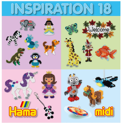 Hama Inspirations-Heft Nr. 18