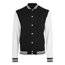 Herren Sweat College Jacke   Build Your Brand black/white S