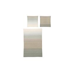 Irisette Bettwäsche EOS Mako-Satin mit Muster in sommer, 155 x 220 cm