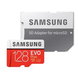 Samsung 128GB EVO Plus microSD Speicherkarte (2017) [+SD-Adapter]