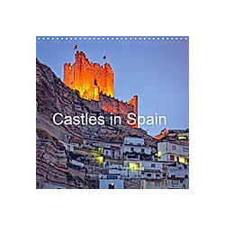 Castles in Spain (Wall Calendar 2021 300 × 300 mm Square)