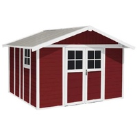 Grosfillex Deco 11 3,55 x 3,15 m rot/weiß