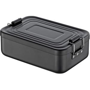 Küchenprofi Lunchbox, Metall, Schwarz, klein