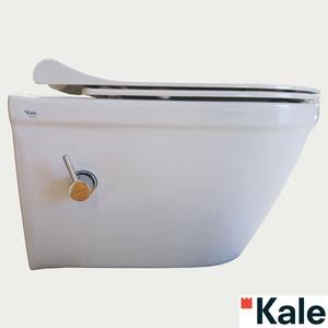 Kale IDEA Hänge WC mit Klobrille und integrierter thermostatischer Wasserhahn