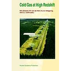 Cold Gas at High Redshift - Buch