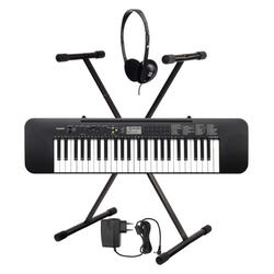 Casio CTK-240 Keyboard SET inkl. Kopfhörer + Keyboardständer + Netzteil