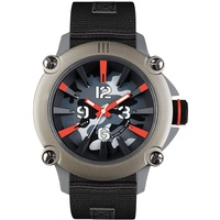 ene Herren Analog Quarz Uhr mit Nylon Armband 640000111