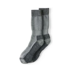 Wintersocken - L - Grau