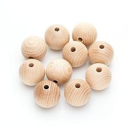 Holzkugeln aus Buchenholz, 30 mm Ø, 10 Stück