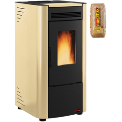 Extraflame Pelletofen Ketty, 6,5 kW, Zeitbrand, 290 W, 230 V