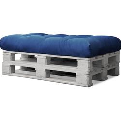 Aspero Palettenkissen Palettenkissen Sitzkissen, 1 Sitzkissen blau