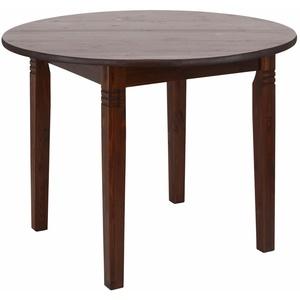 Home affaire Esstisch Danuta, aus massiver Kiefer, runde Ausführung braun 90 cm x 75 cm x 90 cm