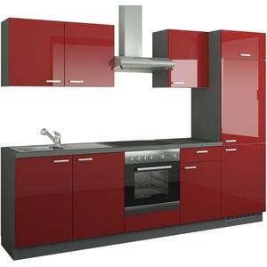 Billige Küchenzeilen Rot ▻ Angebote vergleichen!