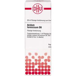 ACIDUM FORMICICUM D 6 Dilution 20 ml