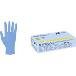 Nitril Bestgen Einmal - Handschuhe, Gr. M 100 St. Einweghandschuh Größe (Handschuhe): M EN 374