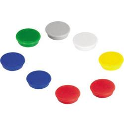 Franken Magnet (Ø) 24mm rund Mehrfarbig, Farbauswahl nicht möglich 10 St. HM20 99