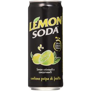 Lemon Soda Lemonsoda Dosen 33cl Bevanda Dekolicht, Mehrfarbig, 24 Stück