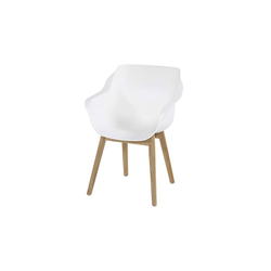 Hartman Sophie Studio Sessel Teak Royal White