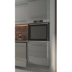 Feldmann-Wohnen Backofenumbauschrank ESSEN (Umbauschrank für Backofen, Küchenschrank) D14/RU/2D/60/207 - Korpus- und Frontfarbe wählbar grau