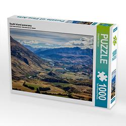 South Island panorama Lege-Größe 64 x 48 cm Foto-Puzzle Bild von Elisabeth Stanzer Puzzle