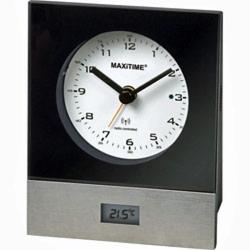 MAXiTIME Analog Funkwecker 0950542 auch ideal als Reisewecker