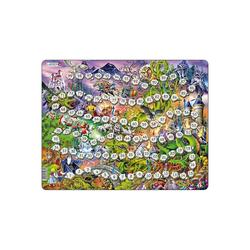 Larsen Puzzle Rahmen-Puzzle & Brettspiel, 40 Teile, 36x28 cm,, Puzzleteile