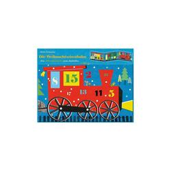 arsEdition Verlag Wandkalender Die Weihnachtseisenbahn, Adventskalender