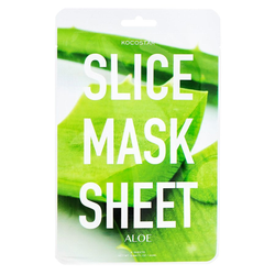 Kocostar Slice Mask Sheet, Aloe Vera