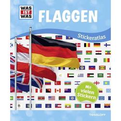 WAS IST WAS Stickeratlas Flaggen 978-3-7886-2157-5