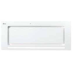GURARI Deckenhaube GCH E 217 WH 70 PRIME/3, Dunstabzugshaube 70 cm, in Weiß,Weiß Glas, 1000m³/h,Sehr Saugstark, 3 Stufen,Abzugshaube,Ablufthaube,Umlufthaube
