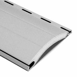 Rolladen, Rolladenpanzer, Rollladenlamellen, Aluminium, auf Maß gefertigt, grau