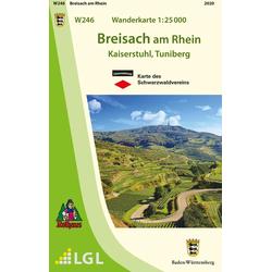 Breisach am Rhein 1:25 000